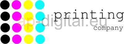 Дизайн на лого printing company- AP Digital