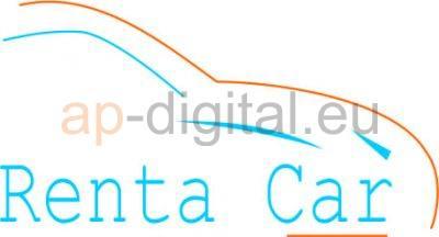 Изработка на лого renta car- AP Digital