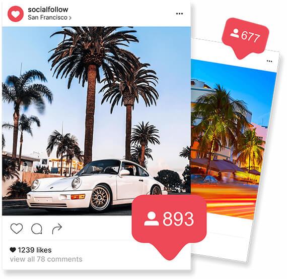 Управление на Instagram профили